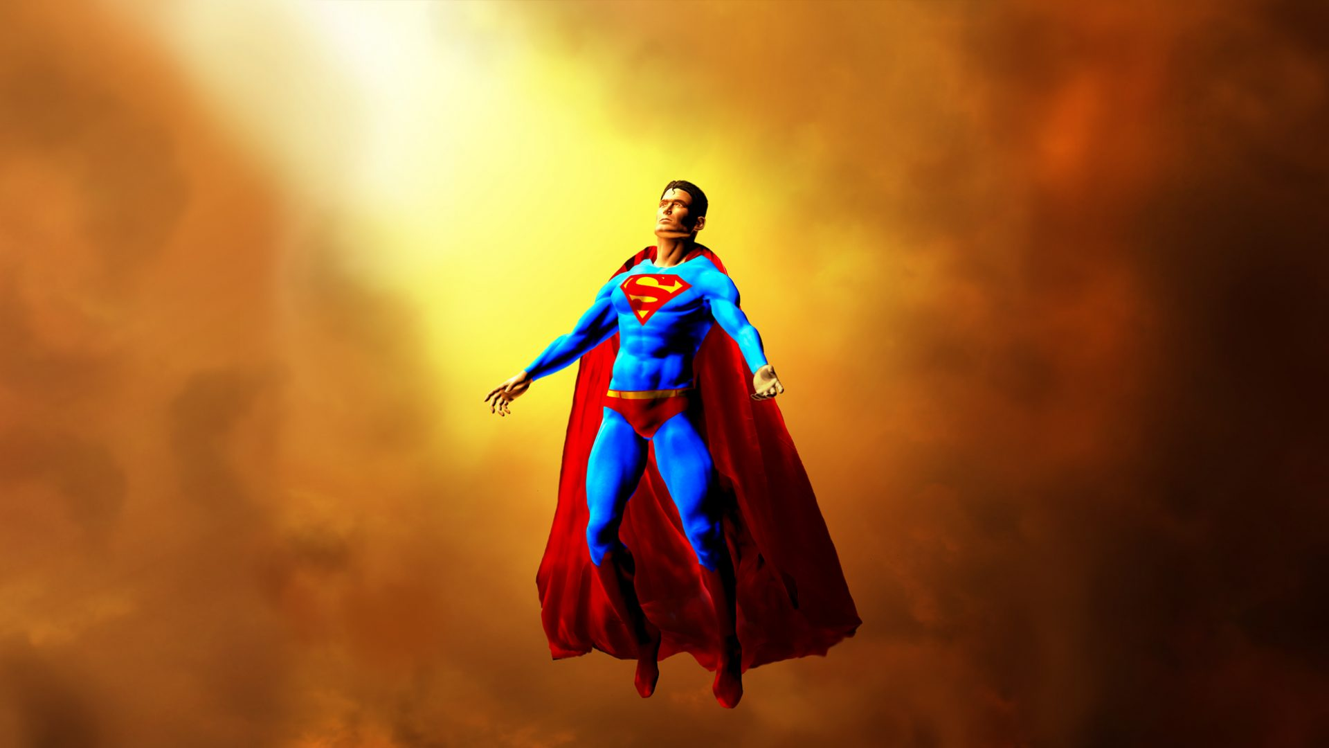 Superman 3d 1920x1080 fondos de pantalla y wallpapers for Fondos animados 3d