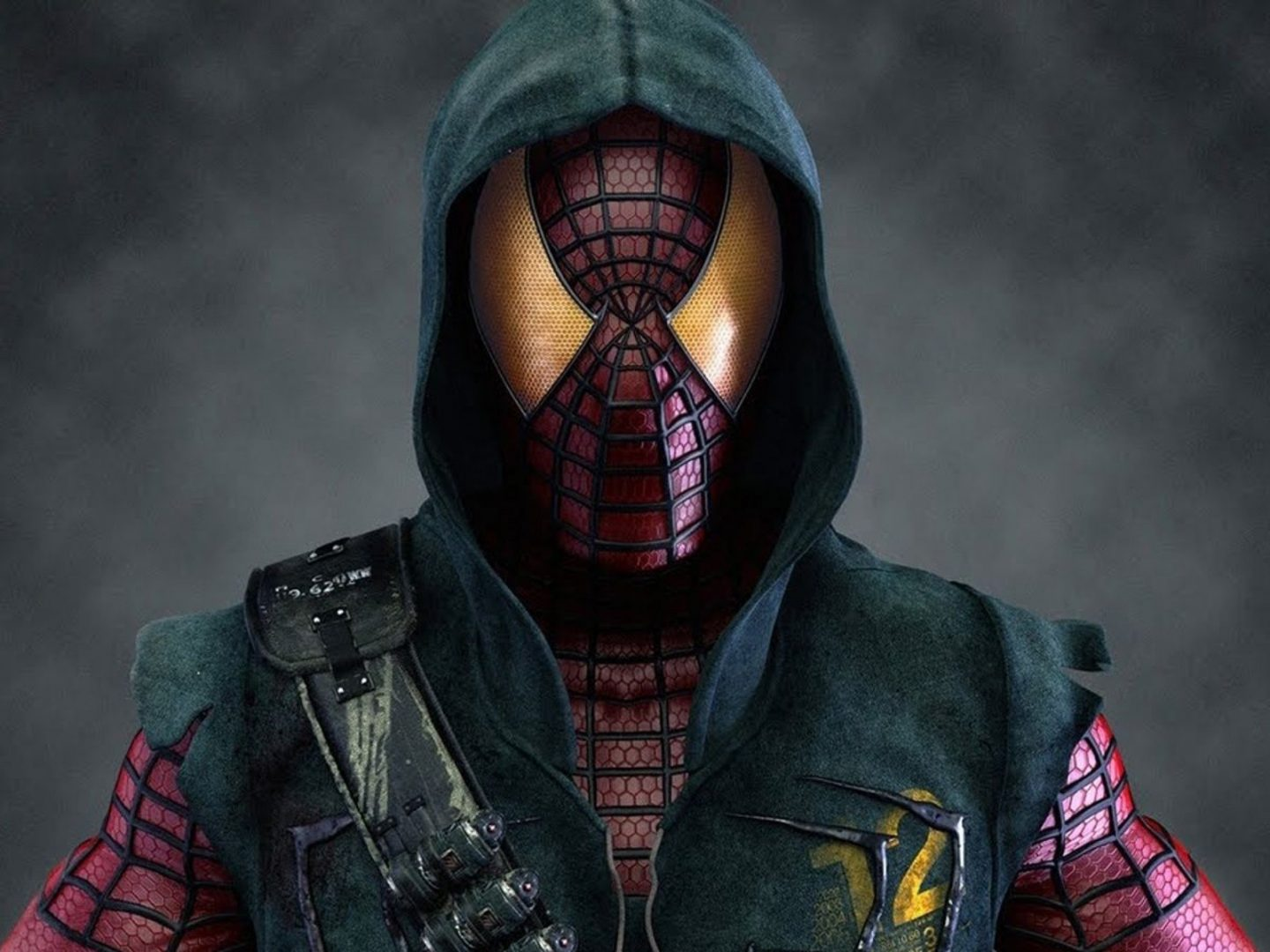 Traje de Spiderman 3D